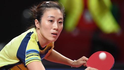 Ist nur knapp an der Weltranglisten-Ersten Chen Meng aus China gescheitert: Han Ying