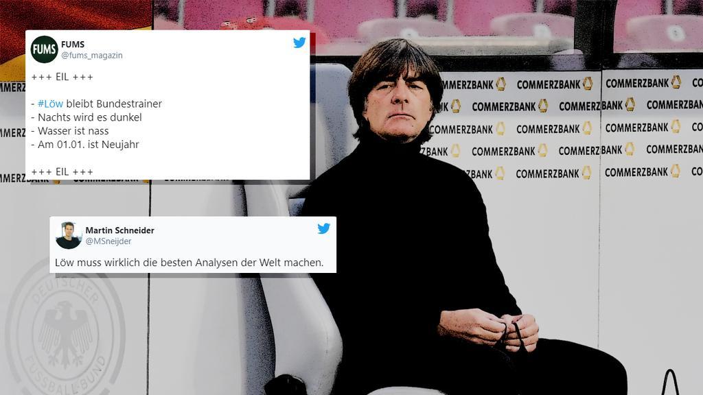 Bleibt vorerst Bundestrainer: Joachim Löw