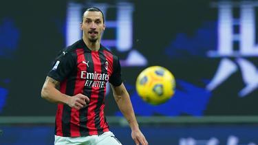 Zlatan Ibrahimovic feierte sein Comeback