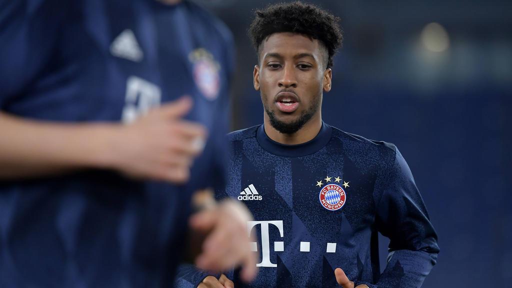 Kingsley Coman spielt seit 2015 für den FC Bayern