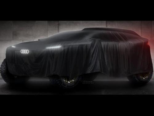 Der Dakar-Renner von Audi soll Mitte des Jahres debütieren