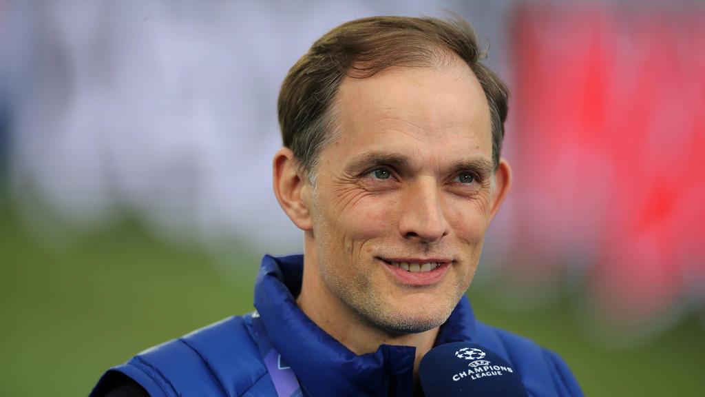 Thomas Tuchel steht mit Chelsea im Champions-League-Finale