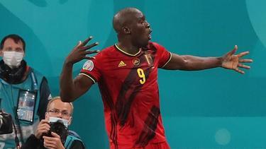 Belgiens Matchwinner gegen Russland: Romelu Lukaku