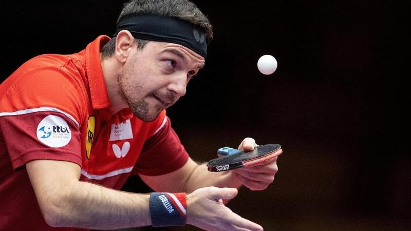 Will jede Chance nutzen:Tischtennis-Routinier Timo Boll