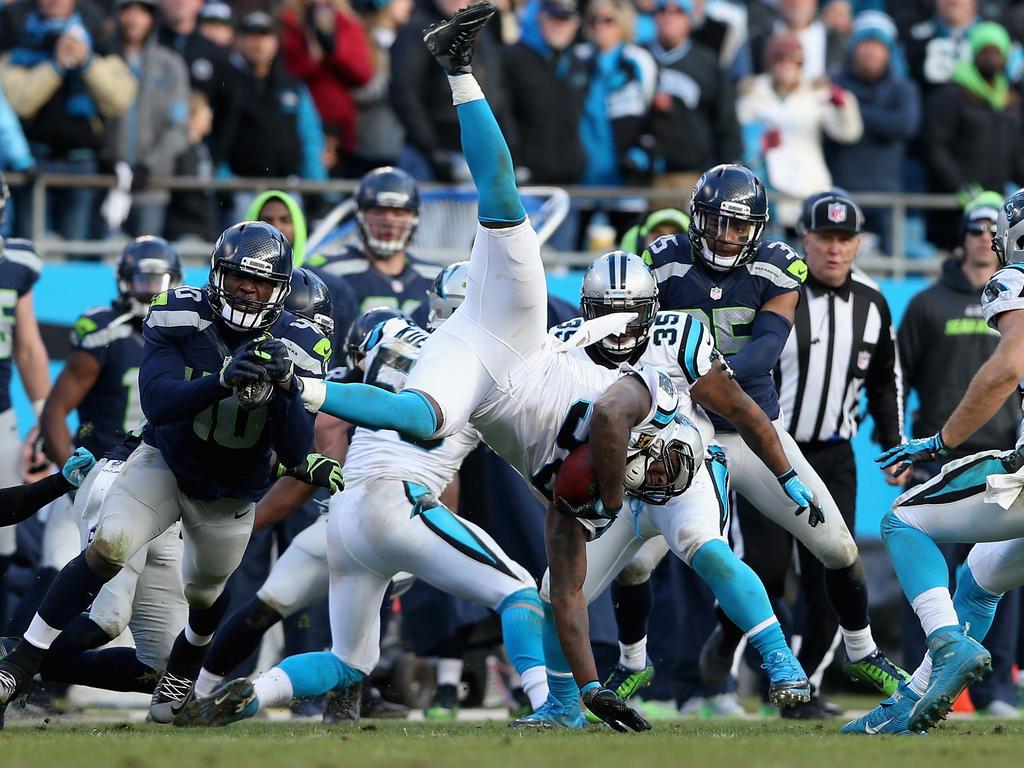 Die Carolina Panthers setzten sich gegen die Seattle Seahawks durch