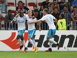 Schalke siegte verdient in Nizza