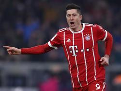 Robert Lewandowski hat gegen den FC Schalke einen Bundesliga-Rekord eingestellt