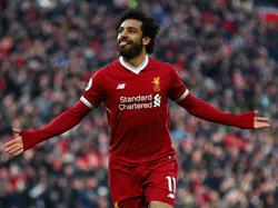 Hat beim FC Liverpool verlängert: Mohamed Salah