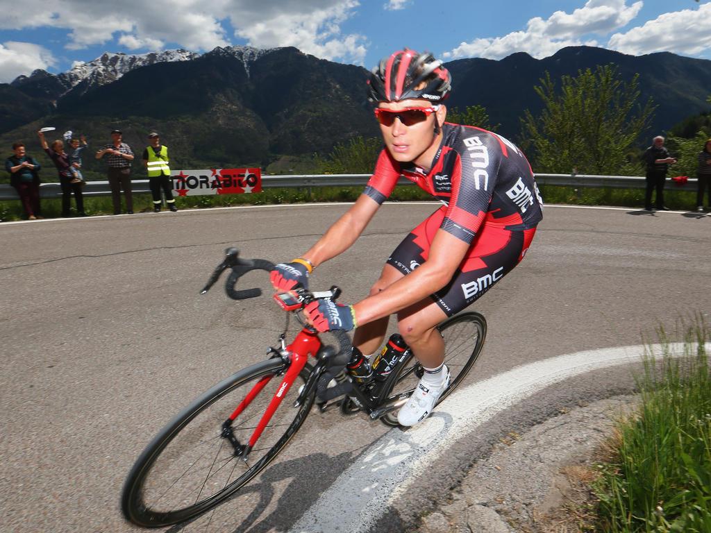 Rick Zabel fuhr bei der ersten Etappe auf Rang vier