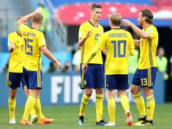 Schwedens Nationalspieler peilen eine Überraschung gegen die deutsche Elf an