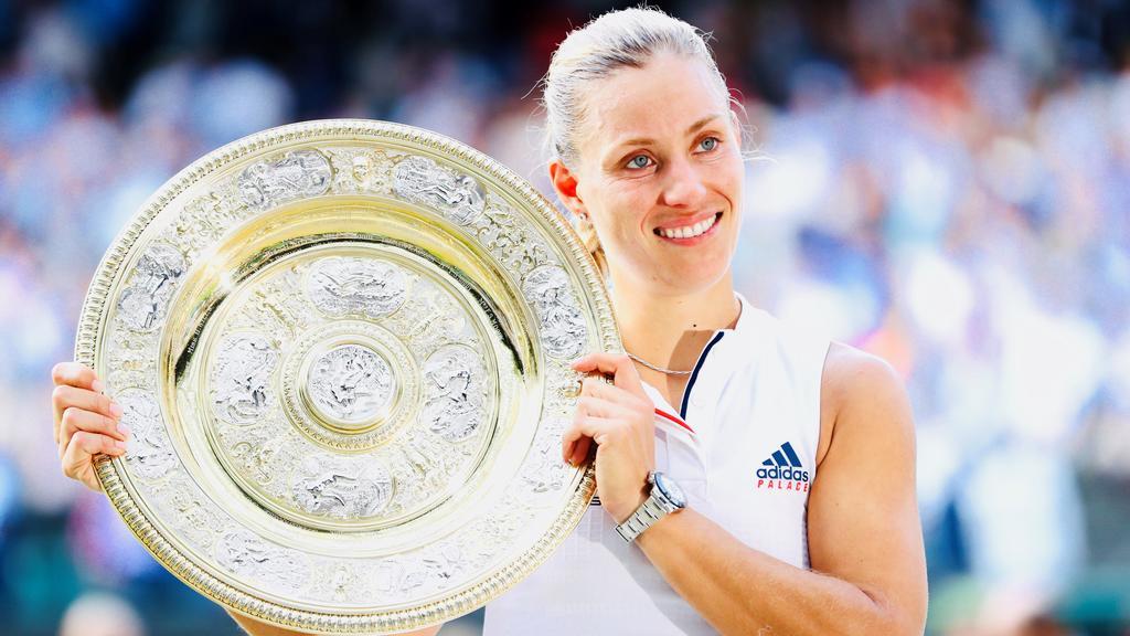 Angelique Kerber triumphierte zum ersten Mal in Wimbledon