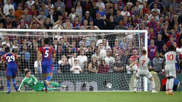 James Milner traf per Strafstoß zum zwischenzeitlichen 1:0
