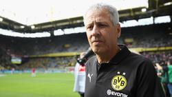 Lucien Favre ist trotz des hohen BVB-Sieges skeptisch