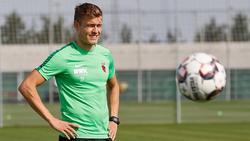 Alfred Finnbogason steht vor seinem Comeback beim FC Augsburg