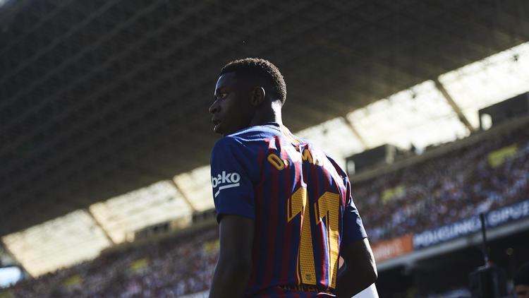 Ousmane Dembélé wartet noch auf seinen Durchbruch beim FC Barcelona