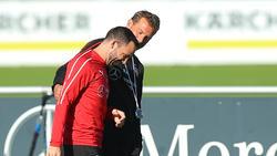 Gonzalo Castro und Markus Weinzierl müssen am 30. Spieltag gegen den FC Augsburg punkten
