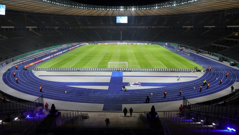 Derzeit spielt die Hertha noch im Olympiastadion