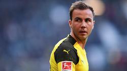 Mario Götze steht seit 2016 wieder beim BVB unter Vertrag