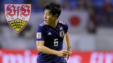Wataru Endo wird mit dem VfB Stuttgart in Verbindung gebracht