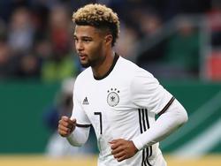 Darf auf sein Debüt in der A-Nationalmannschaft hoffen: Serge Gnabry