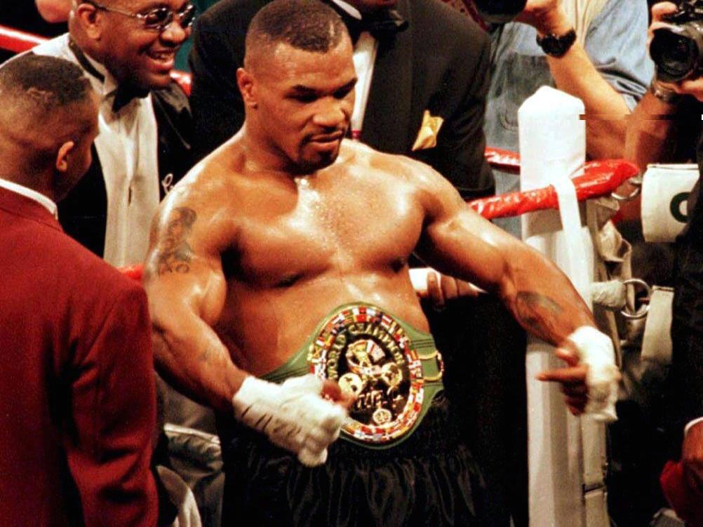 Tyson Gegen Holyfield