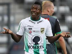 Jodel Dossou wurde vom Bundesliga-Strafsenat wegen Tätlichkeit für drei Spiele gesperrt