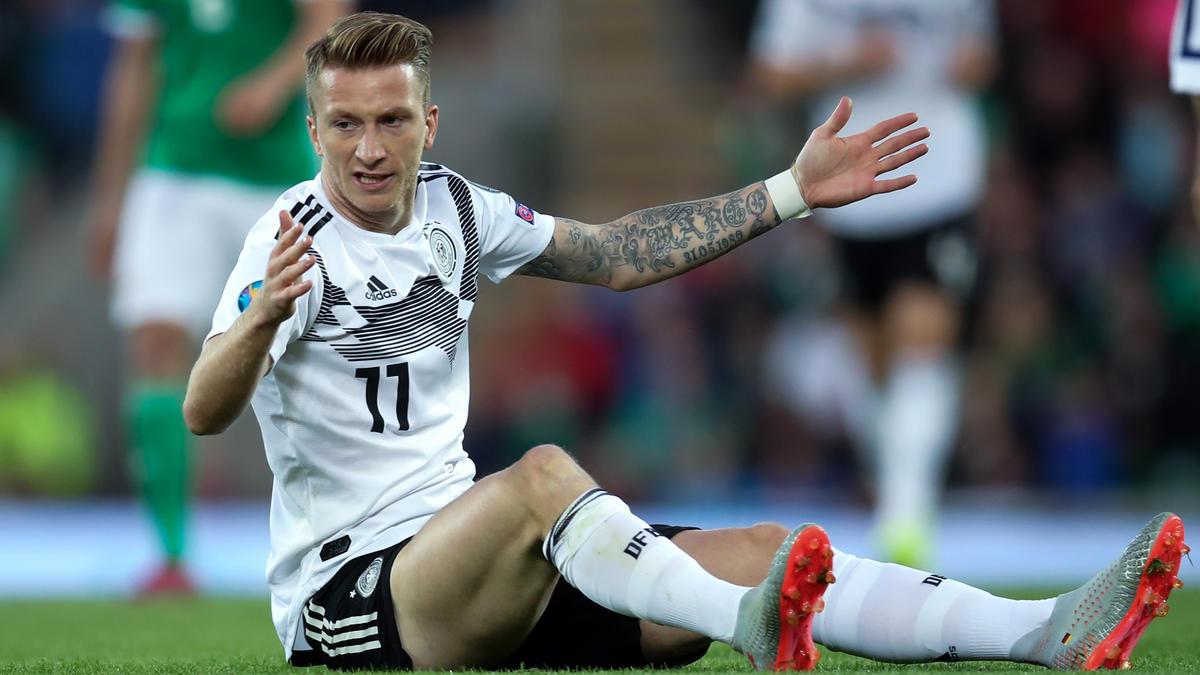 BVB-Kapitän Marco Reus rennt seiner Top-Form hinterher