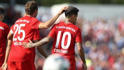Spielt Müller oder Coutinho gegen Leipzig?