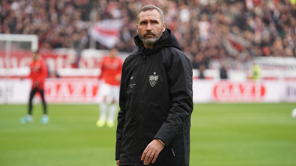 Tim Walter befindet sich mit dem VfB Stuttgart in der Krise