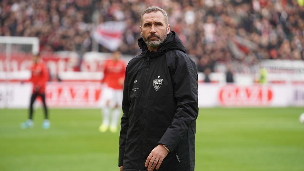 Für VfB-Trainer Tim Walter wird die Luft immer dünner