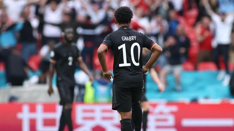 Serge Gnabry tauchte früher als erwartet beim FC Bayern auf