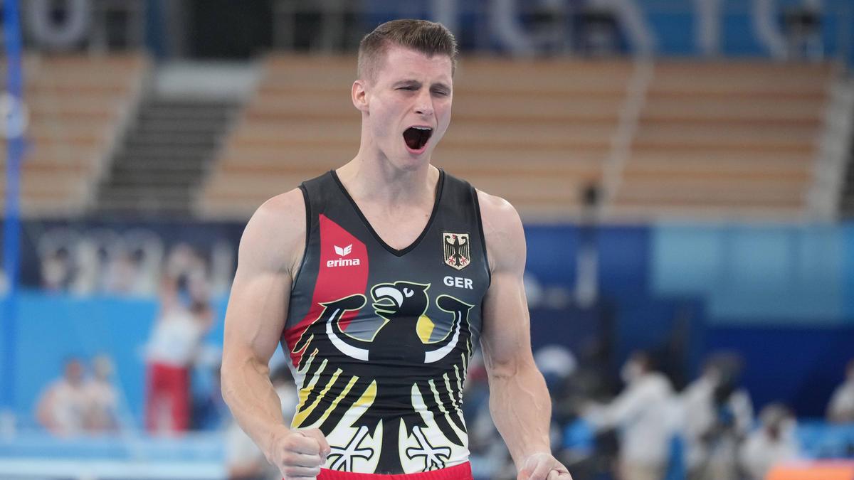 Lukas Dauser gewinnt die  Silbermedaille