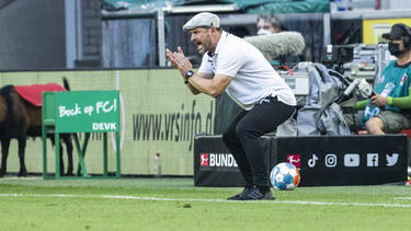 Will den Zuschauern attraktiven Fußball bieten: Köln-Coach Steffen Baumgart