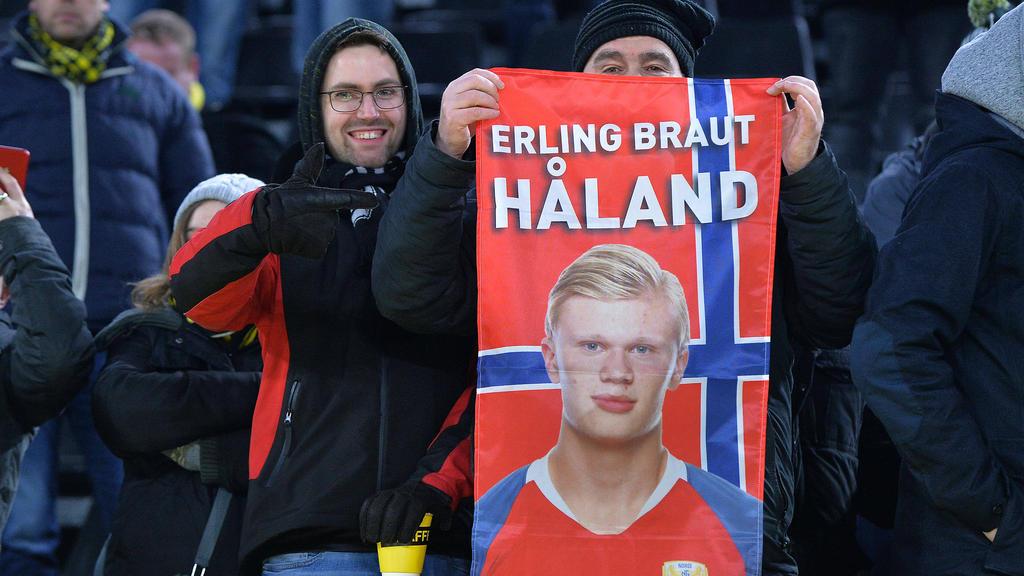 Erling Haaland trifft wie er will für den BVB