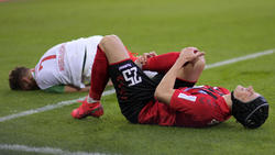 Hat nach nicht wieder mit der Mannschaft trainiert: Robin Koch (r.)
