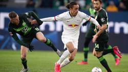 Yussuf Poulsens Vertrag bei RB Leipzig läuft noch bis zum 30. Juni 2022
