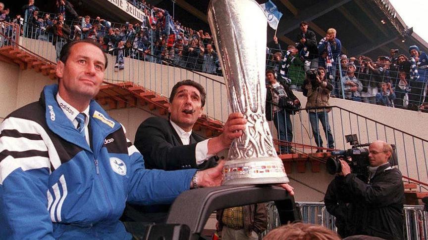 Der FC Schalke 04 gewann im Jahr 1997 den UEFA Cup