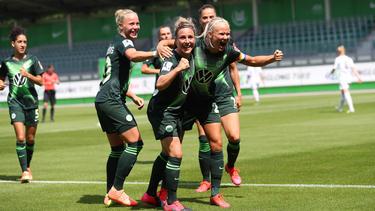 Der VfL Wolfsburg gewinnt die deutsche Meisterschaft