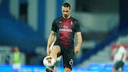 Regt die Spekulationen weiter an: Zlatan Ibrahimovic
