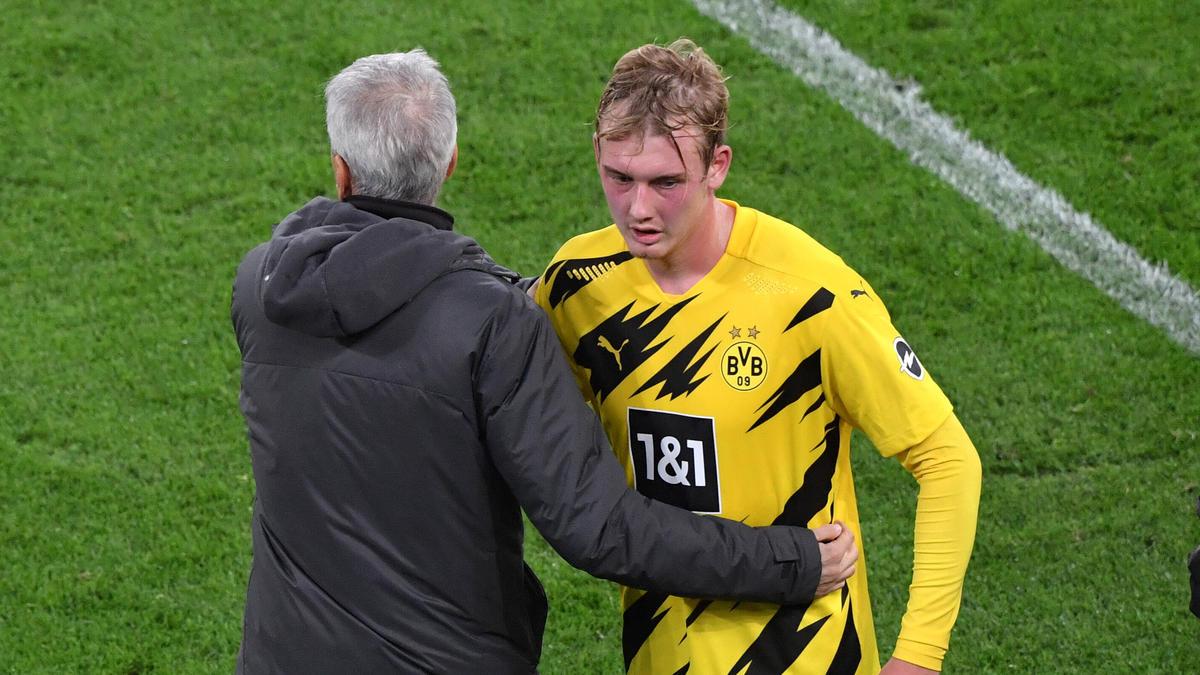 Überzeugte beim BVB-Sieg gegen den FC Schalke 04: Julian Brandt