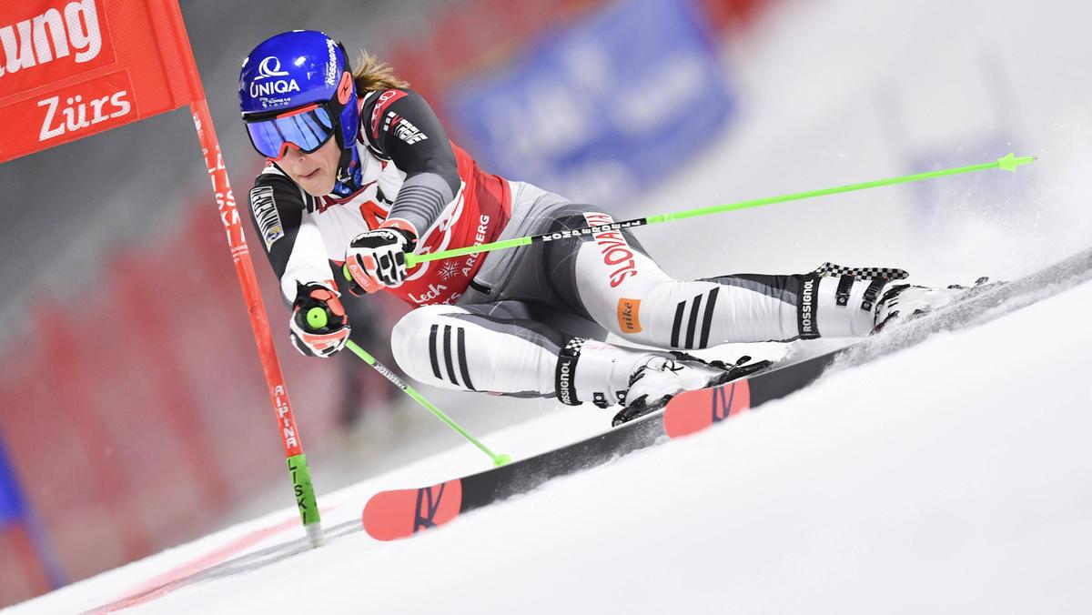 Petra Vlhová hat den Parallel-Riesenslalom gewonnen