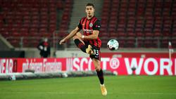 André Silva spielt für Eintracht Frankfurt