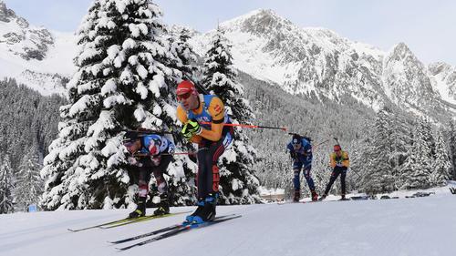 Arnd Peiffer belegte im Massenstart den fünften Platz