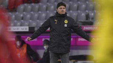 BVB-Trainer Edin Terzic sah sein Team gegen den FC Bayern einbrechen