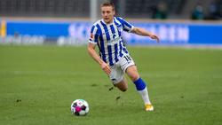 Santiago Ascacibar von Hertha BSC könnte eine Strafe drohen