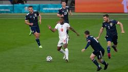 Schottland ließ gegen die Three Lions über 90 Minuten nur wenig zu