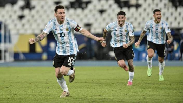 Lionel Messi führte Argentinien ins Copa-Endspiel