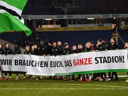 Hannover 96 darf sich auf die Unterstützung der Fans freuen