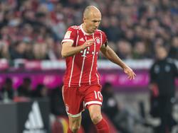 Robben am Ball