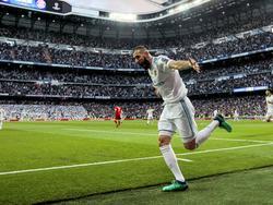 Benzema salvó al Madrid con un doblete contra un Bayern muy superior. (Foto: Getty)